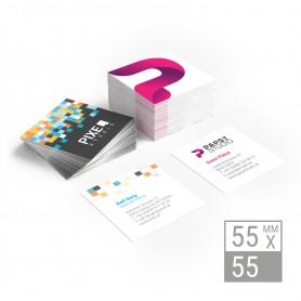 Visitenkarten | 55x55mm - beidseitig Visitenkarten beidseitig