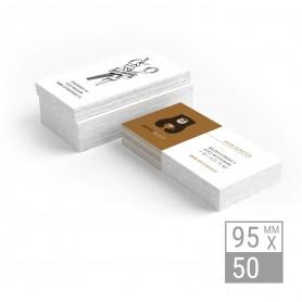 Visitenkarten | 95x50mm - einseitig Visitenkarten einseitig 39,90€