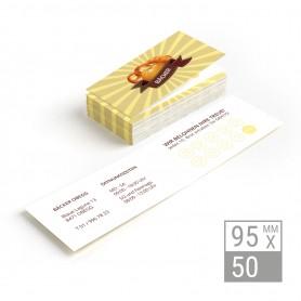 Klappvisitenkarten | 95x50mm Klappvisitenkarten