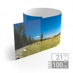 Panoramadruck | 21cm x Variable Breite Kleinformat