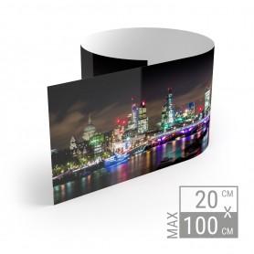 Panoramadruck | 20cm x Variable Breite Kleinformat