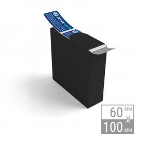 Etiketten auf Rolle | 60x100mm Etiketten in Spenderbox