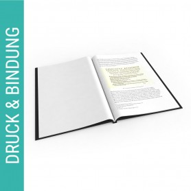 Diplomarbeit bis 80 Seiten - Hardcover Diplomarbeiten 38,90€