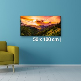 Fotoleinwand | 50x100cm Fotoleinwand