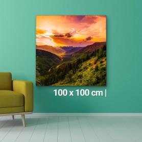 Fotoleinwand | 100x100cm Fotoleinwand