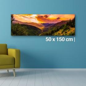 Fotoleinwand | 50x150cm Fotoleinwand 149,00€
