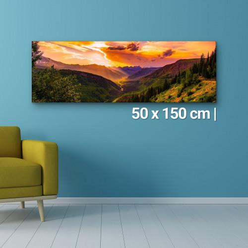 Fotoleinwand | 50x150cm Fotoleinwand