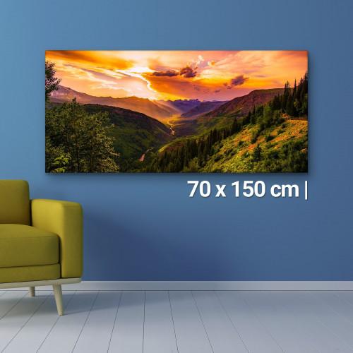Fotoleinwand   70x150cm Fotoleinwand