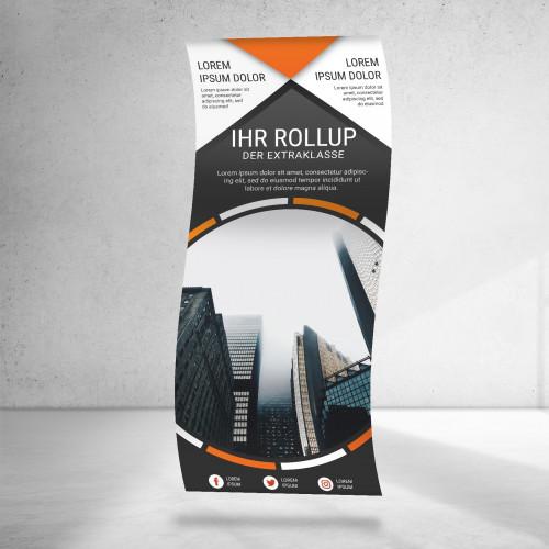 Roll-Up Bespannung   85x160-200cm Roll-Ups & L-Banner