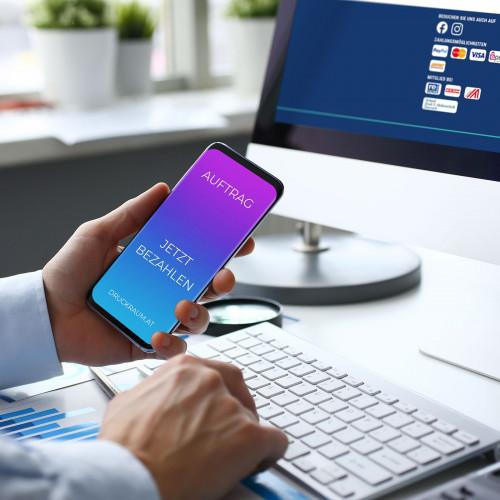 Auftrag (online) bezahlen Produkte