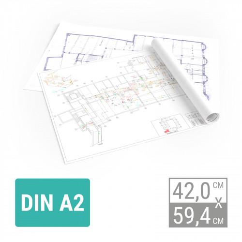 Plandruck Farbe   A2 Plandruck