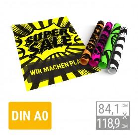 Neonplakat | A0 Neonplakate 9,90€