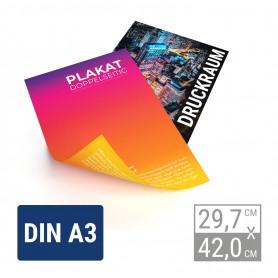 Premium Plakat beidseitig | A3 Premium-Plakate beidseitig 5,90€