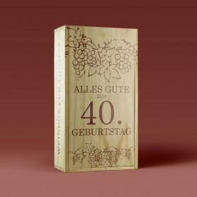 Druck auf Ihre Weinbox Druck auf Holz 0,00€