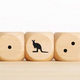 Druck auf Ihren Holzwürfel Druck auf Holz
