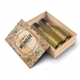 Druck auf Ihre Weinkiste Druck auf Holz 0,00€