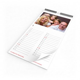 Monatskalender A3 slim Kalender