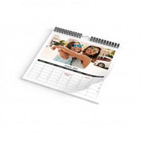 Monatskalender A4 quadrat Kalender