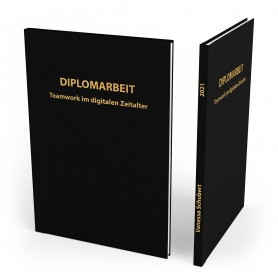 Hardcover mit Prägung | A4 | 21x29,7cm Gebundene Unterlagen