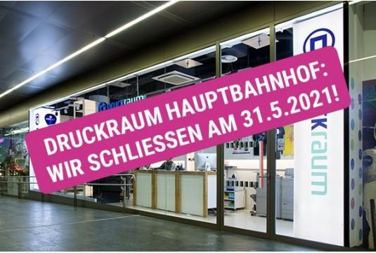 DRUCKRAUM Hauptbahnhof